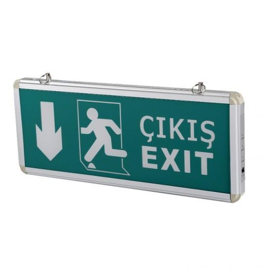 Cata 3W Exit Çikis Armatürü CT-9167